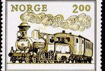 Kolejowe znaczki zagraniczne