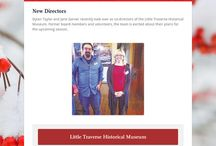 Newsletters and Updates / A collection of electronic newsletters and updates throughout the year.