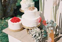 Wedding: Wedding cake & Sweet Table