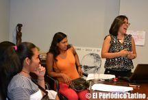 Jornada consultiva en el Consulado de El Salvador en BCN / La comunidad salvadoreña se reunió en la sede del Consulado de El Salvador en Barcelona para exponer sus inquietudes ante los delegados del Ministerio de Relaciones Exteriores que están de visita en la ciudad para escuchar y orientar a los salvadoreños ante los diferentes problemas que enfrentan como inmigrantes.