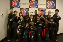 Master Yi's Demo Team! / Master Yi's elite demonstration team consists of dedicated students who have expanded their Taekwondo journey! We have a fantastic time practicing and performing together.