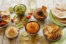 Cool Dips, Spreads, and Salads