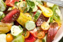 salade et slaws