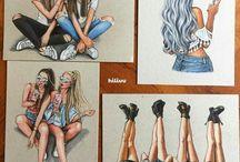 drawings+art