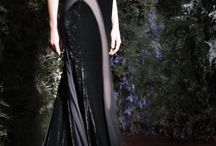 Evening dress and couture