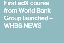 First edx course from world bank group