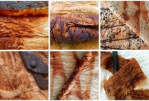 RUST DYEING TECHNIQUES AND EFFECTS