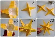 Estrelas de papel