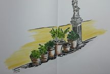 My Urban sketches / Sketches that I make on my way through the world