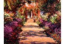 impressionismo / Impressão Sol poente