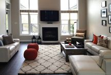 Living room  / A redesigned living room for my client