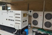 Hybrid Solar / A selection of hybrid and off grid solar systems.