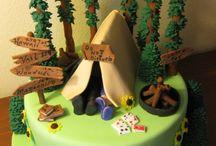 Work & Hobby cakes