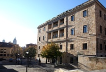 abba Fonseca Hotel****S - Hotel in Salamanca / 86 Rooms. Meeting rooms for up to 200 rooms. New building that has kept the old stone façade of its historical set. 'La Abbadía' Restaurant, Gym, Jacuzzi, Sauna and Car Park. Located in the historical city center, 20 meters away from the 'Palacio de Fonseca', facing the 'Iglesia de San Blas' and only 50 metres to the congress hall of Salamanca. / by Abba Hoteles