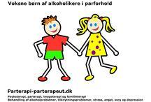 Voksen barn af alkoholikere i parforhold / Voksne børn af alkoholikere i parforhold & parterapi