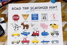 Road Tripping with the kids / Activities to keep the kids busy and mommy and daddy from losing their sh*t!
