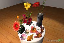 Kompozycje florystyczne 3D / Dzięki e-usłudze Florysta3D możesz eksperymentować z tworzeniem kompozycji florystycznych siedząc wygodnie przed komputerem.  Baw się i ucz, rozwijaj swoje pomysły. Pozwól się ponieść wyobraźni! Podziel się swoją kompozycją na Facebook.