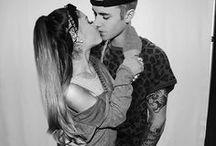 Justin bieber  i Ariana grande