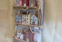 dřevěné domečky