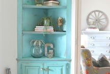 Taste of Turquoise / My favorite color - I could go crazy with this board!