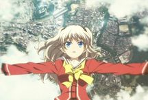 Anime-Charlotte / Charlotte (シャーロット Shārotto?) is a Japanese anime television series produced by P.A.Works and Aniplex and directed by Yoshiyuki Asai. The series, which is written by Jun Maeda with original character design by Na-Ga, is the second original anime project created by visual novel brand Key following the 2010 series Angel Beats!. The anime began airing in Japan on July 4, 2015, and is simulcast by Crunchyroll and Animax Asia in South and Southeast Asia.