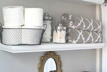 wc shelves
