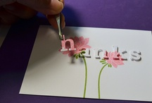 Die cutting techniques /cards
