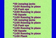Lisa's workouts