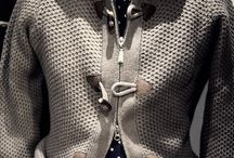 men knit cardigan