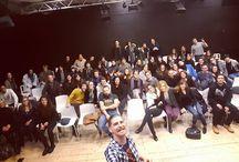 Instagram Alla fine della #standupphilosophy di Milano! :D pubblico stupendo! Grazie a tutti quelli che ci sono stati!