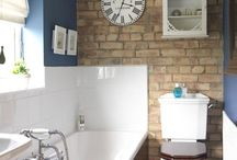 Blue Bathroom / by TurquoiseDreaming@Etsy.com Sheree Brown