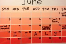 Calendar Plannerish Ideas