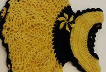 my crochet dresses