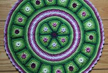 Crochet Afghans:  Round / by Joan Nicholes