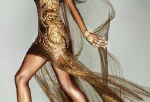 Model Naomi Campbell / Naomi