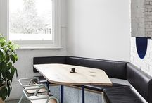 Mammoth Cafe / Furniture supplied for Mammoth Cafe, Melbourne. Interior by Techne Architects.