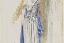 női öltözékek  female costums