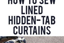 Tutorial sewing curtain