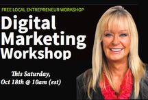 Workshop / I would like to invite you to my NEW workshop for local business owners.  This Digital Marketing Workshop will be jammed pack with nuggets that you can start implementing immediately in your local business to help you increase revenue, client database and leads.  If you are a local business owner and want some tips of how to kick start your business online, please join me for the exciting and NEW event! See you there!  http://www.cheryllynninternational.com/liveworkshop101814