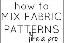 How to mix fabric patrans