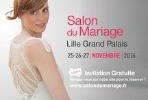 Salon du Mariage 2016 / la 22ème édition du salon du Mariage de Lille  25, 26 et 27 novembre 2016