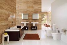 Modern bathroom design / Modern bathroom design, What is the first thing jump into your mind when coming from the work after a long day of hot and tired, sure it will be an urgent need for having a nice shower to feel great relaxation and to vanish all tiredness into air, so your bathroom is a very personal place that you can relax your mind and body in it, thus an extra effort is needed to beautify your bathroom to maximize comfort, space and aesthetics. Modern bathroom design is the ideal bathroom design that grants y
