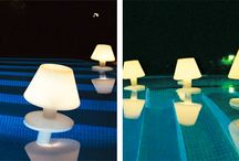 illuminazione fontana, piscina, vasca