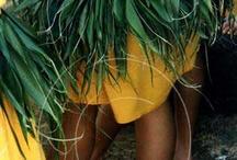 tahitian dance costume / by Jaimee Astrolabio