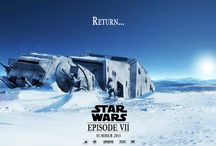 Star Wars VII Fan Poster Art / As fans around the world awaits the next installment of the Star Wars franchise in 2015, they are doing some astounding movie poster art.