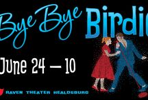 Bye Bye Birdie / June 24 – July 10, 2016 at Raven Theater Healdsburg. Before entering the Army, rock and roll star Conrad Birdie (think Elvis Presley) will kiss a girl from Sweet Apple, Ohio live on the Ed Sullivan Show. However, Conrad's hip-thrusting makes more than one man in town uncomfortable. Will the show go on? A Raven Players production. www.raventheater.org