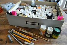 Peinture tissus