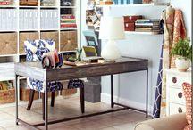 room with fabrics