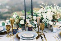 Wedding rome table setting