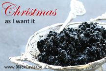 Christmas with Caviar / Here is the caviar which get us in Christmas Mood!
